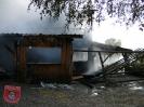 Einsatz Nr 76/2012: Partyhütte bei Marxheim brennt vollständig aus