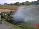 Einsatz Nr. 78/2012: Traktor geht in Flammen auf