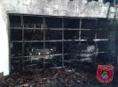 Einsatz Nr.87/2013: Feuer zerstört Garage und Autos