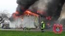 Einsatz Nr.97/2014: Feuer verwandelt Halle in Trümmerfeld
