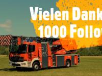 1.000 Facebook Follower - DANKE!
